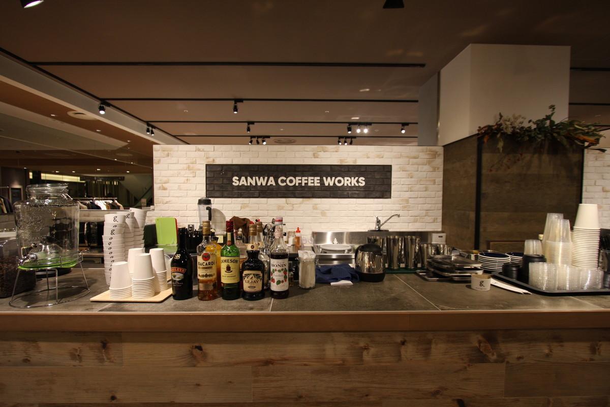 sanwa coffee works LUCUA1100店 2